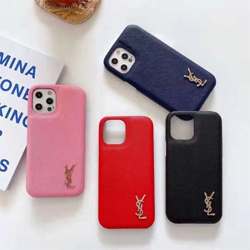 YSL iPhone13 Pro Max ケース 背面